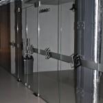 Pertvarinių stiklų apklijavimas matine plėvele