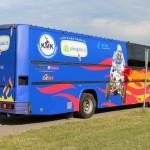 autobuso apklijavimas